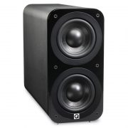 Q ACOUSTICS 3070S Black Leather (QA3074)