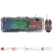 Trust GXT 845 Tural Gaming Combo STEEL