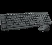 Logitech MK235 Black USB