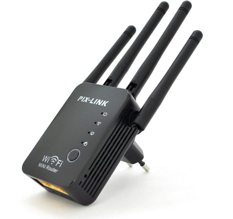 Усилитель сигнала Wi-Fi ретранслятор, репитер, точка доступа PIX-LINK LV-WR16