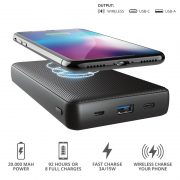 Trust Primo QI 20000 mAh Wireless