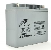 AGM RITAR HR12-60W, Gray Case, 12V 17.0Ah