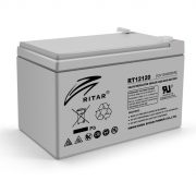 AGM RITAR RT12120, Gray Case, 12V 12.0Ah