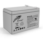 AGM RITAR RT12140H, Gray Case, 12V 14.0Ah