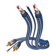 Межблочный кабель 2RCA-2RCA Inakustik Premium Phono