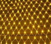Гирлянда Voltronic 100LED (Сетка) Yellow