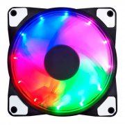 Кулер корпусной Voltronic sleeve fan 3pin + 4pin 16LED, RGB