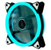 Кулер корпусной Voltronic sleeve fan 3pin + 4pin Ice-Blue, двухсторонний 1