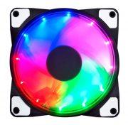 Кулер корпусной Voltronic sleeve fan 3pin + 4pin RGB, односторонний