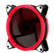 Кулер корпусной Voltronic sleeve fan 3pin + 4pin Red, двухсторонний