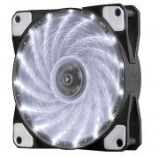 Кулер корпусной Voltronic sleeve fan 3pin + 4pin White